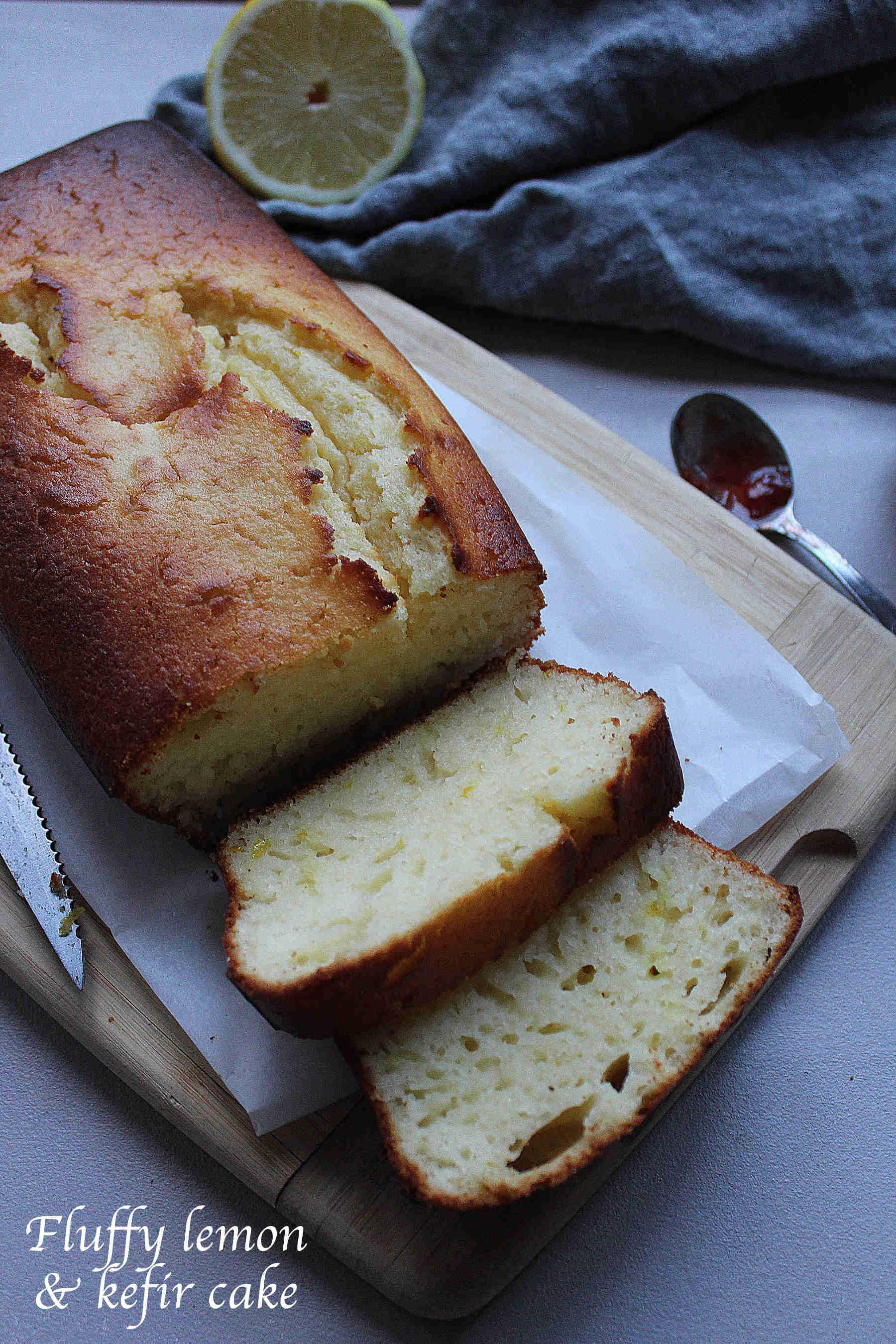 Cake au citron et au kefir