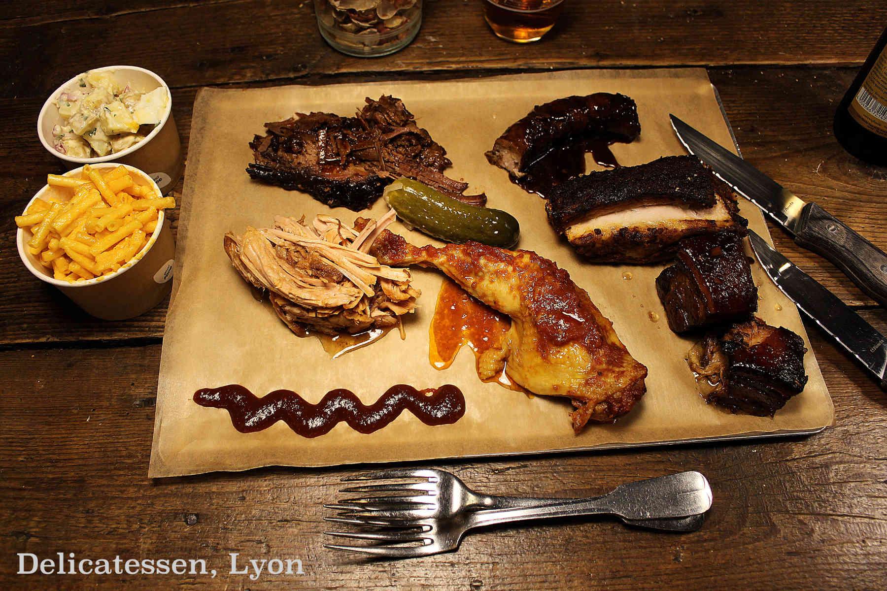 Delicatessen, le temple de la viande à l'américaine à Lyon 1