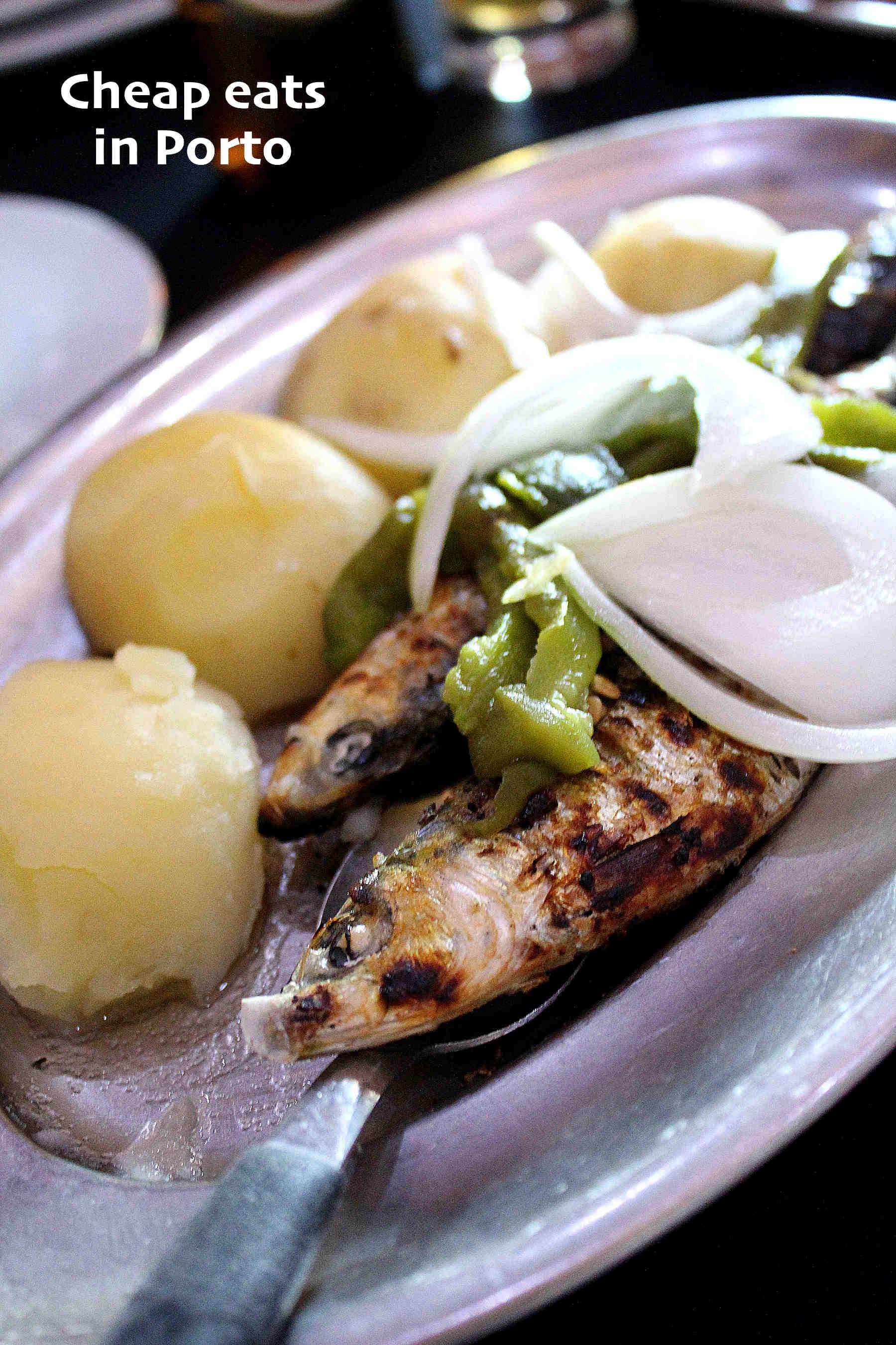 4 bonnes adresses pour manger pour 7€ ou moins à Porto
