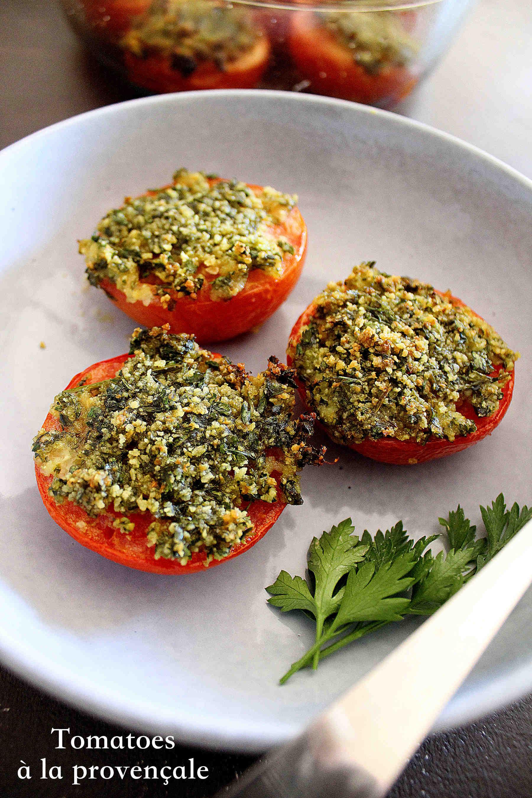 Tomatoes à la provençale