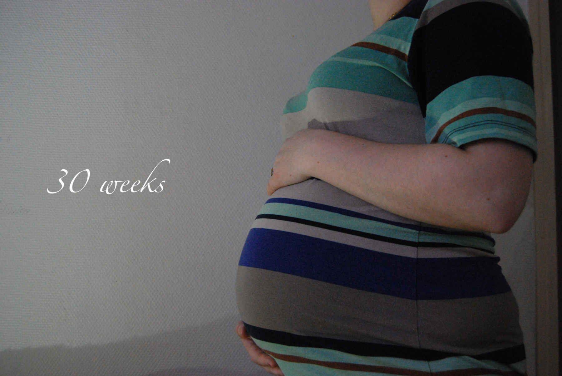 Baby update : 30 semaines