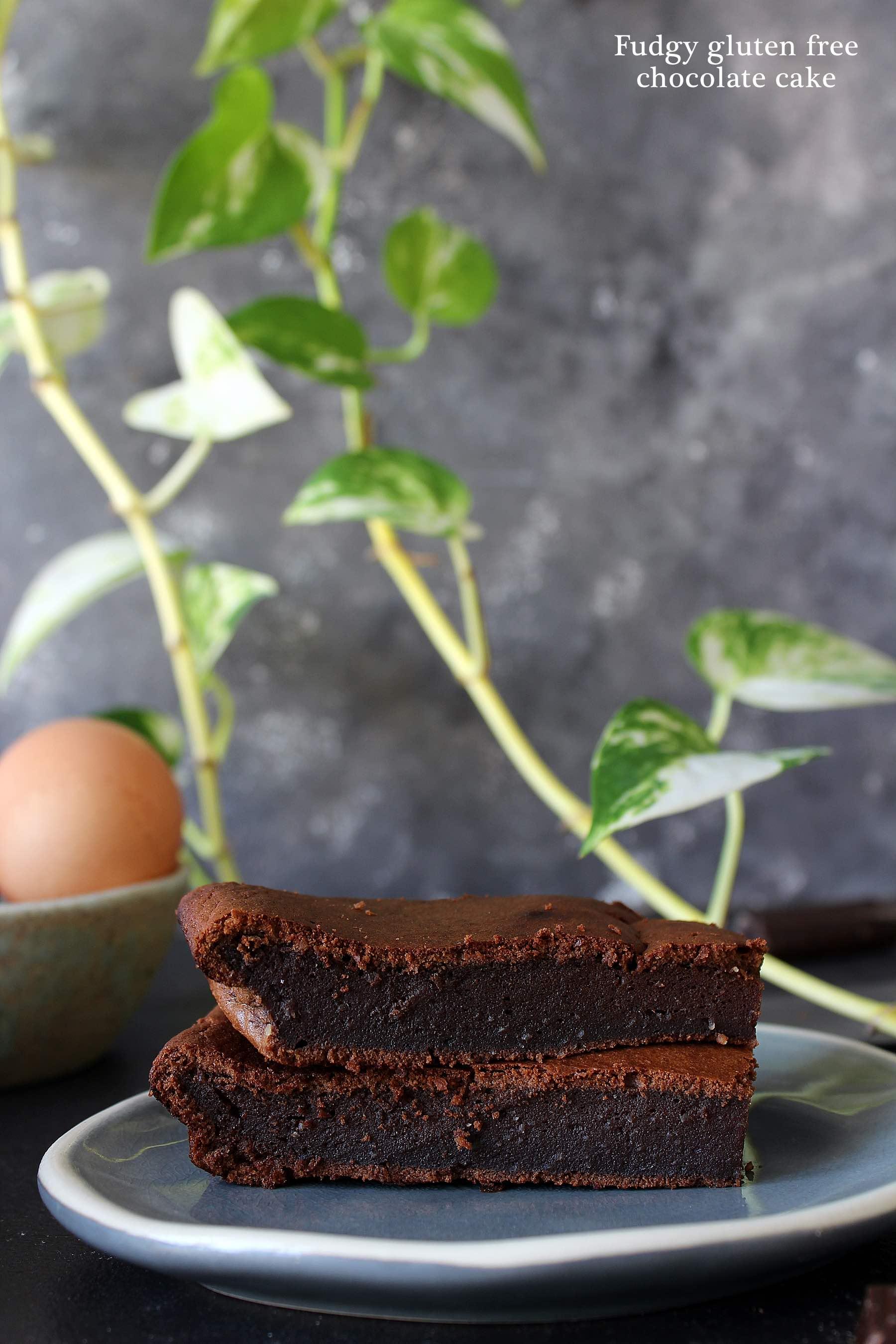 Gâteau fondant au chocolat (sans gluten)