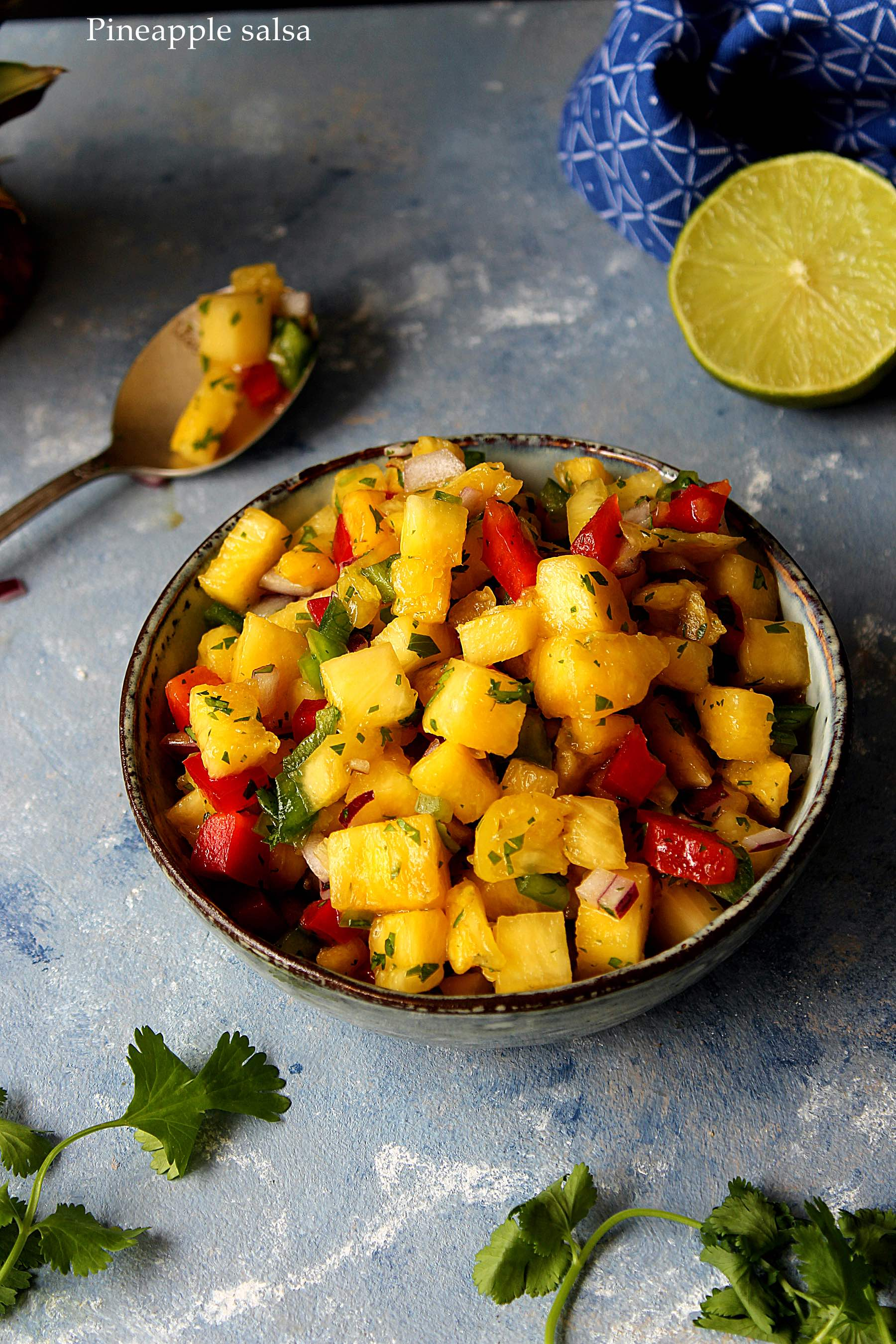 Salsa d'ananas