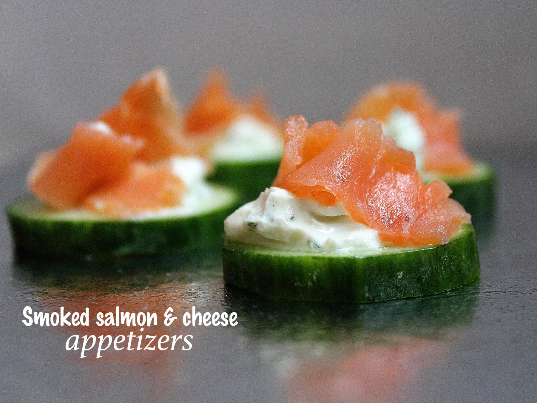Toasts au saumon fumé et fromage frais