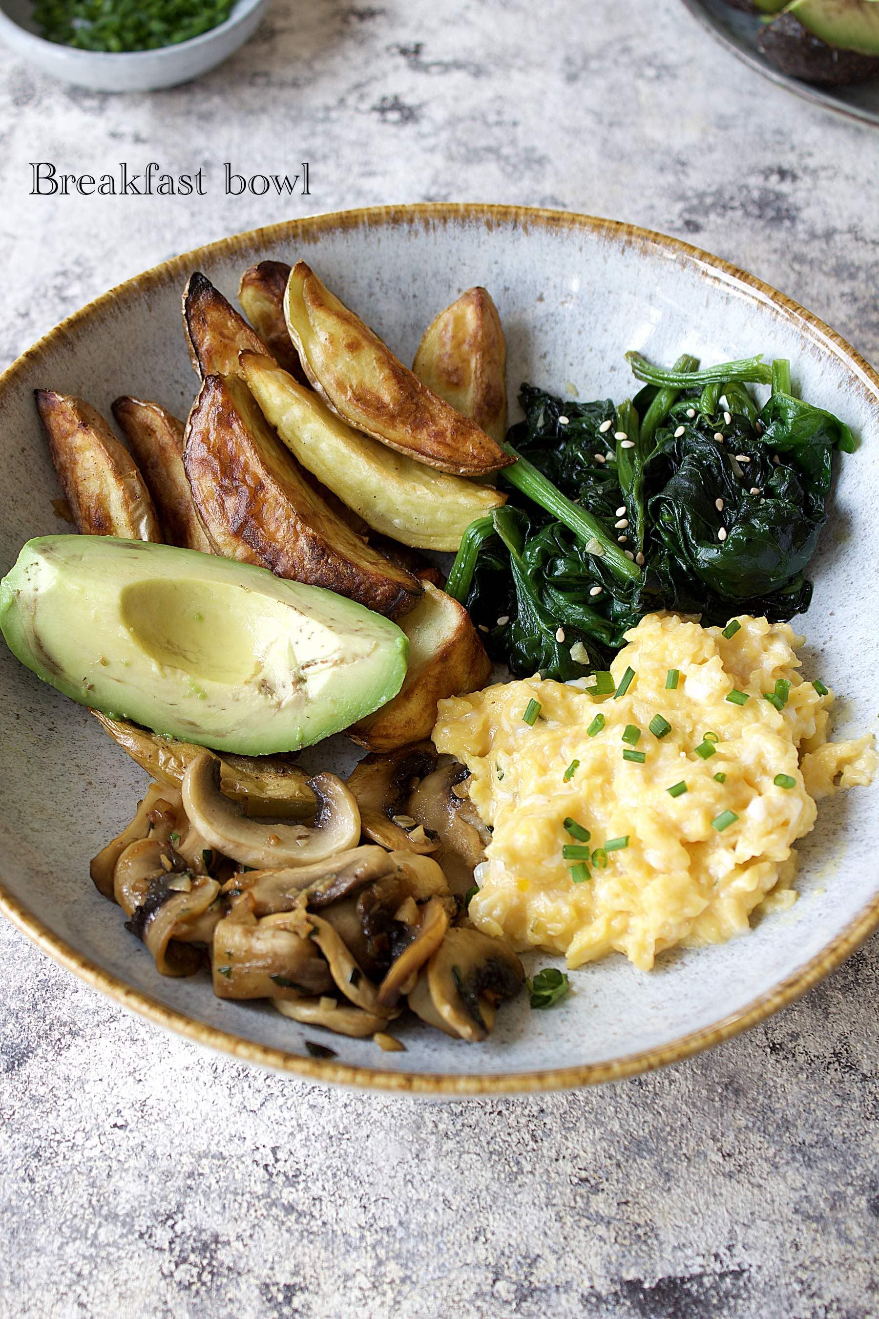 Breakfast bowl du dimanche