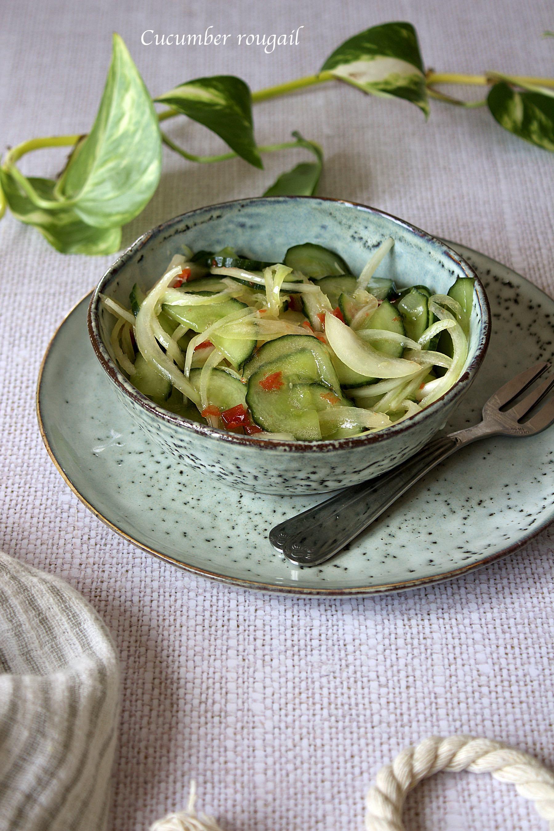 Cucumber rougail