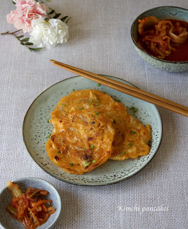 Kimchijeon, pancakes coréen au kimchi