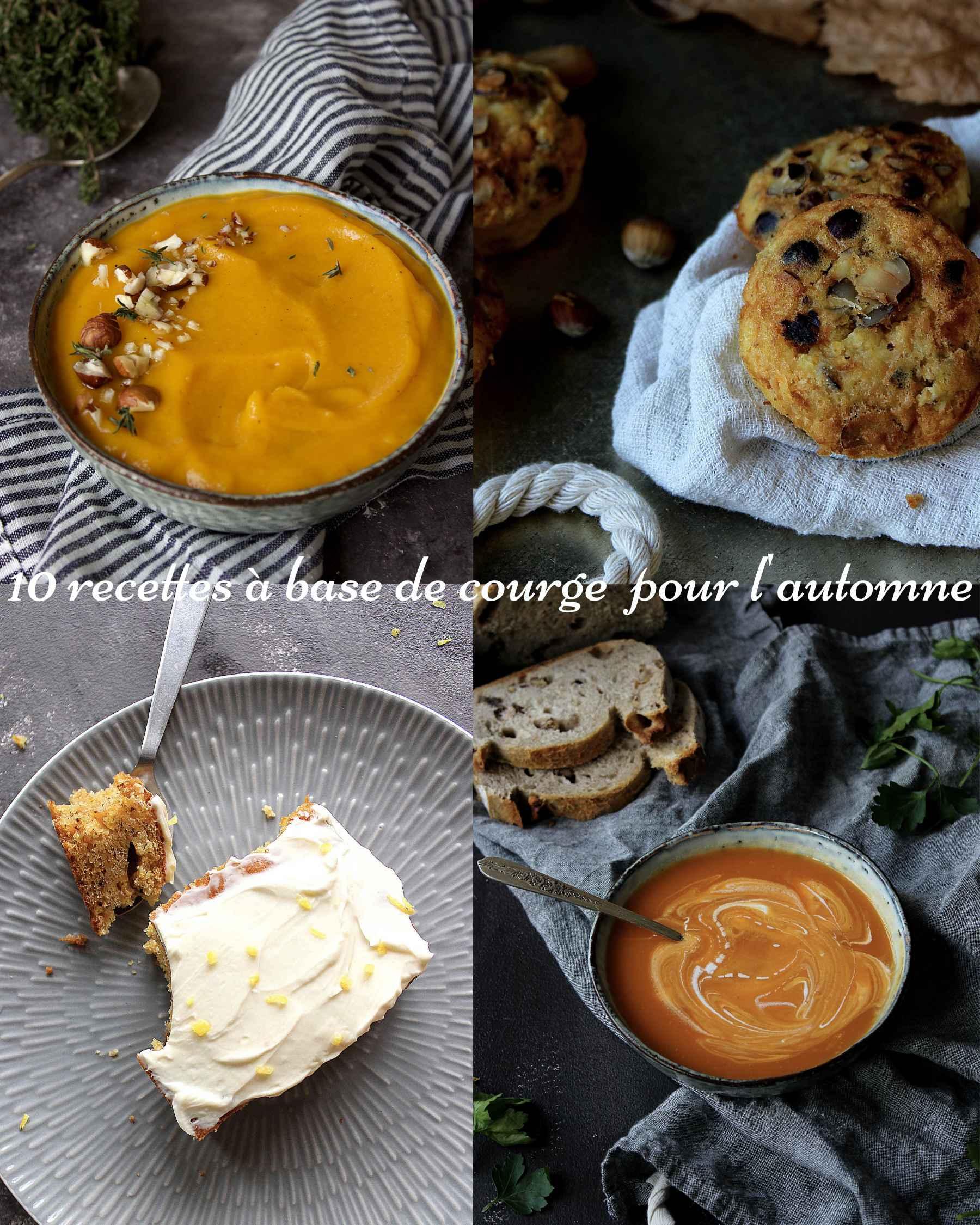 10 délicieuses recettes à base de courge à faire cet automne